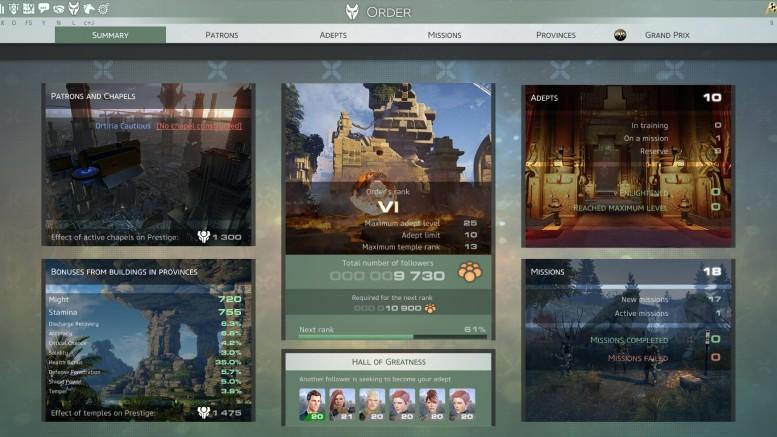 Skyforge Order Page