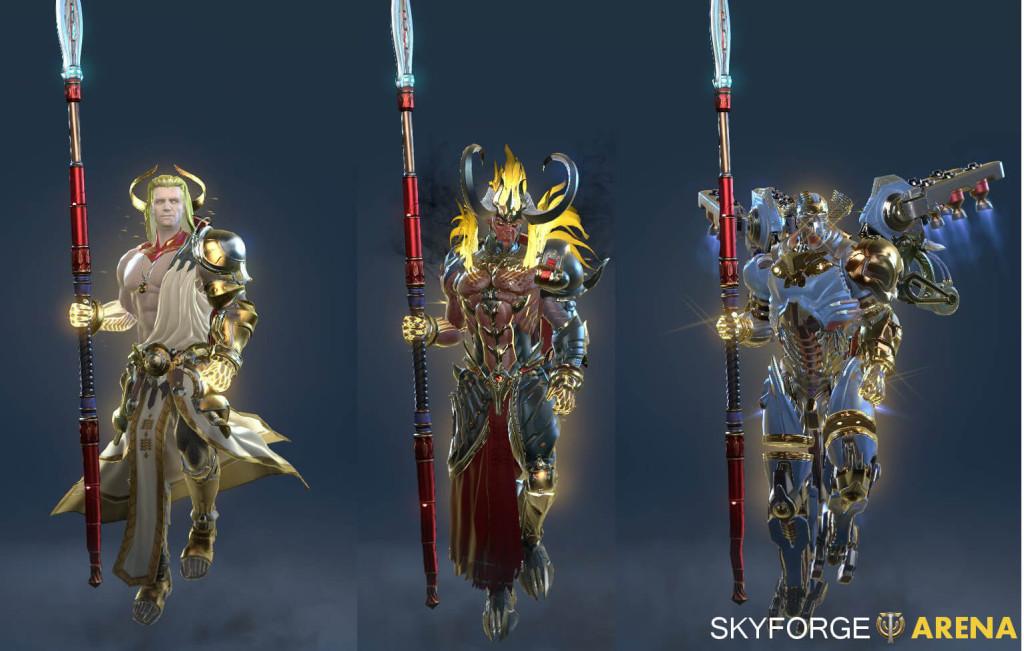 Skyforge Divine Aspects