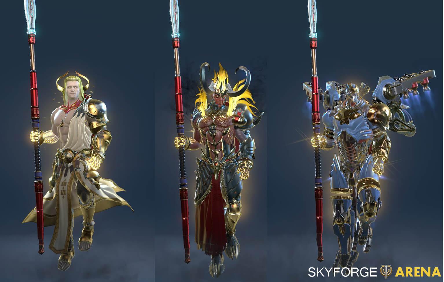 Becoming a God in Skyforge | Skyforge Arena