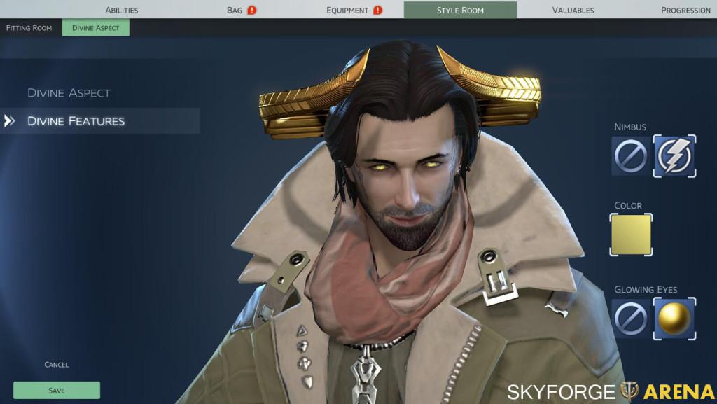 Skyforge Divine Features
