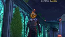 Skyforge Halloween Berseker Pumpkin