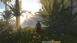 Skyforge Knight Beautiful Scenary
