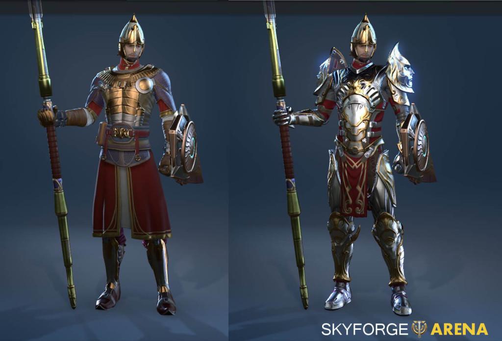 Skyforge Knight Costume